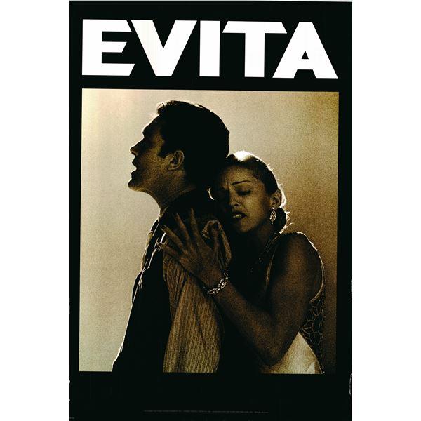 Evita 1996 original one sheet movie poster