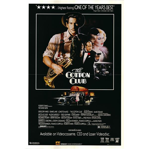 The Cotton Club original 1984 vintage one sheet movie poster
