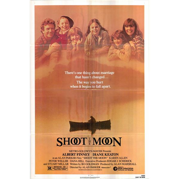 Shoot the Moon original 1982 vintage one sheet movie poster