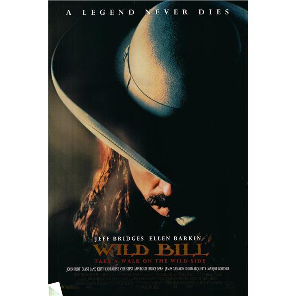 Wild Bill original 1995 vintage one sheet movie poster