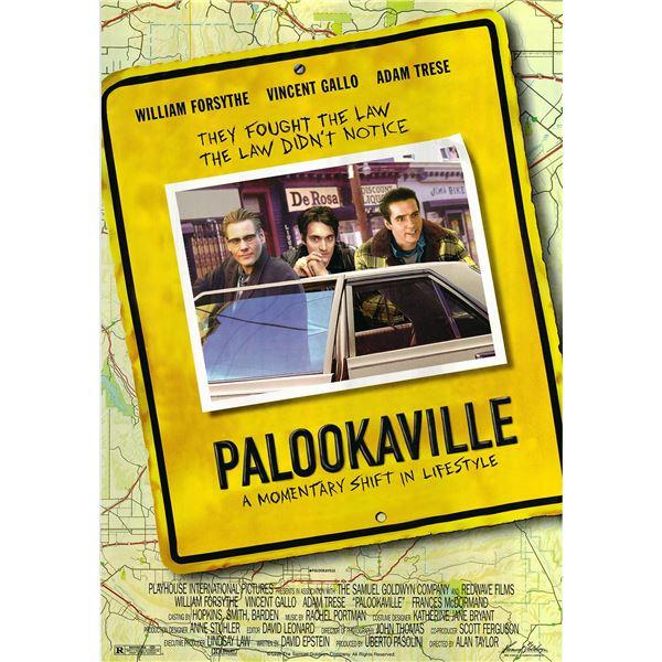 Palookaville original 1995 vintage one sheet movie poster