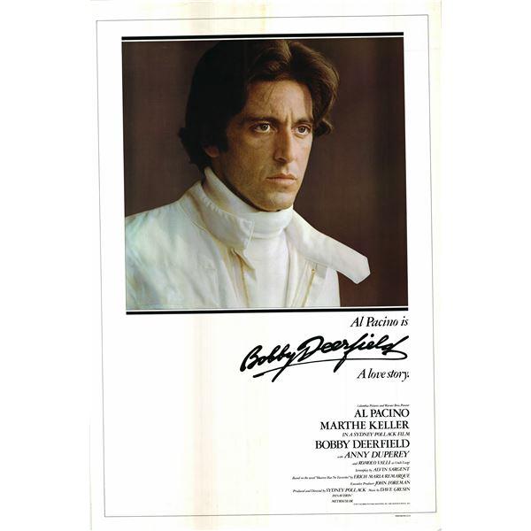 Bobby Deerfield 1977 original vintage one sheet rolled movie poster