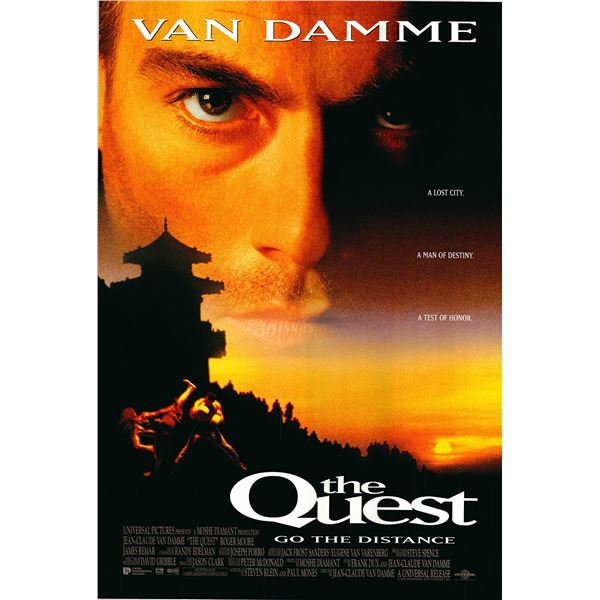 The Quest original 1996 vintage one sheet movie poster