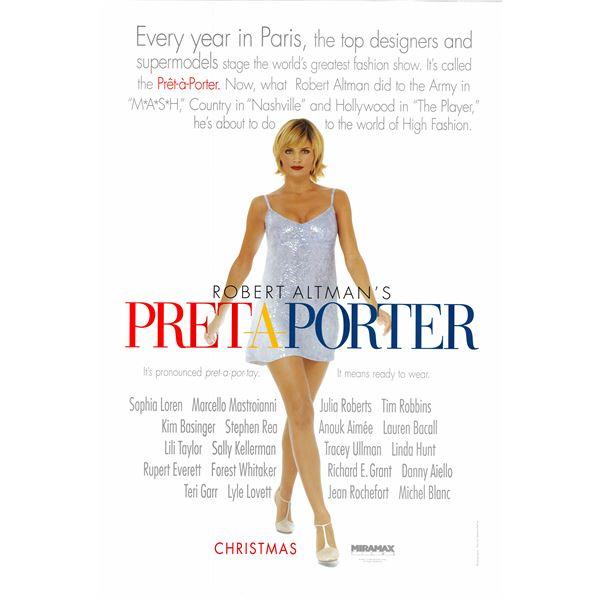 Prêt-à-Porter 1994 original movie poster
