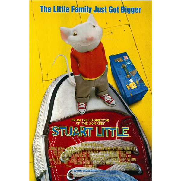 Stuart Little original 1999 vintage one sheet movie poster