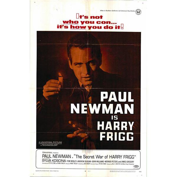 The Secret War of Harry Frigg original 1968 vintage one sheet movie poster