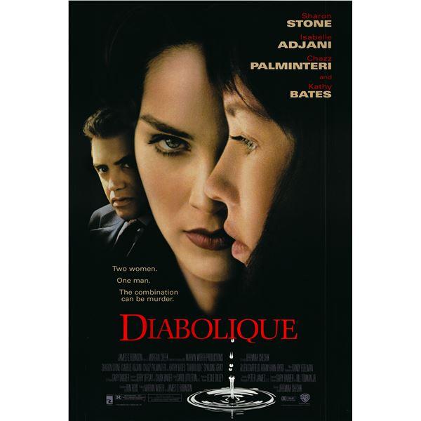 Diabolique 1996 original one sheet movie poster