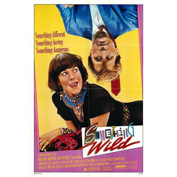 Something Wild original 1986 vintage one sheet movie poster