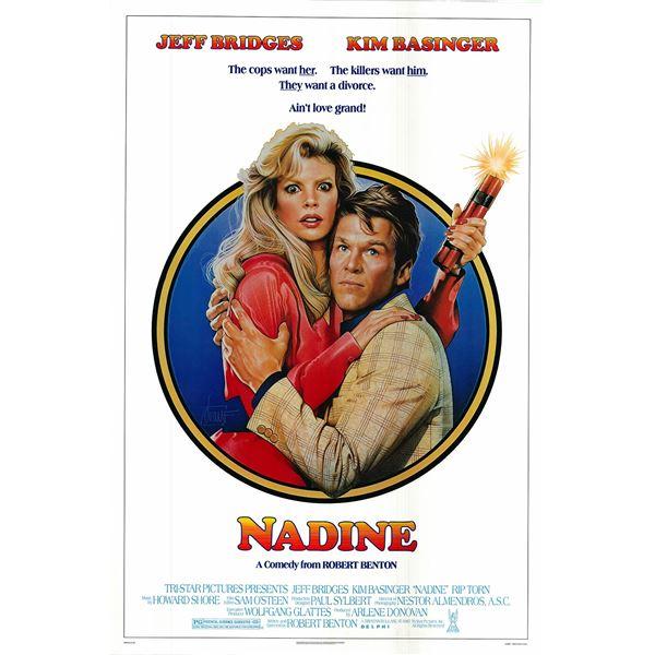 Nadine 1987 original vintage movie poster