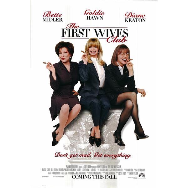 The First Wives Club original 1996 vintage one sheet movie poster