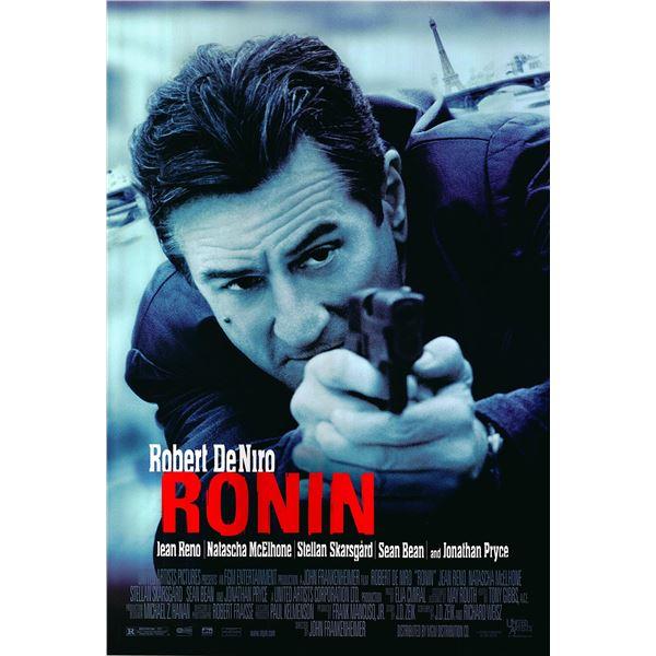 Ronin original 1998 vintage one sheet movie poster