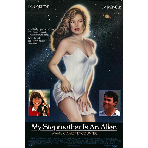 My Stepmother is an Alien  1988 original vintage movie poster