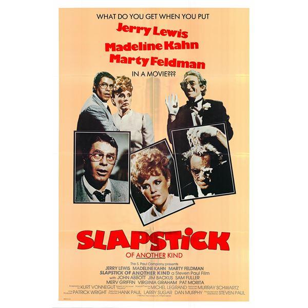 Slapstick of Another Kind original 1982 vintage one sheet movie poster