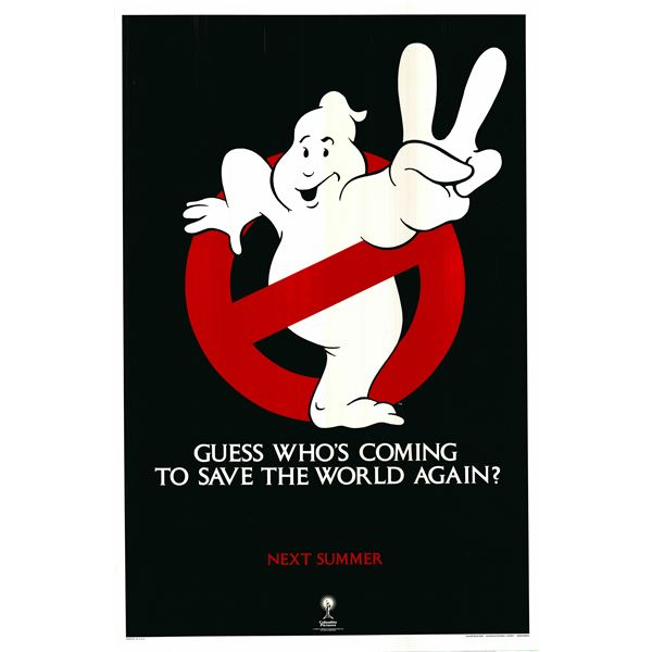 Ghostbusters II 1989 original vintage advance one sheet movie poster