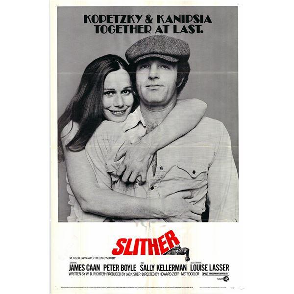 Slither original 1973 vintage one sheet movie poster