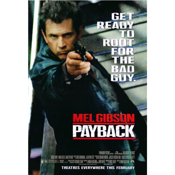 Payback 1998 original movie poster