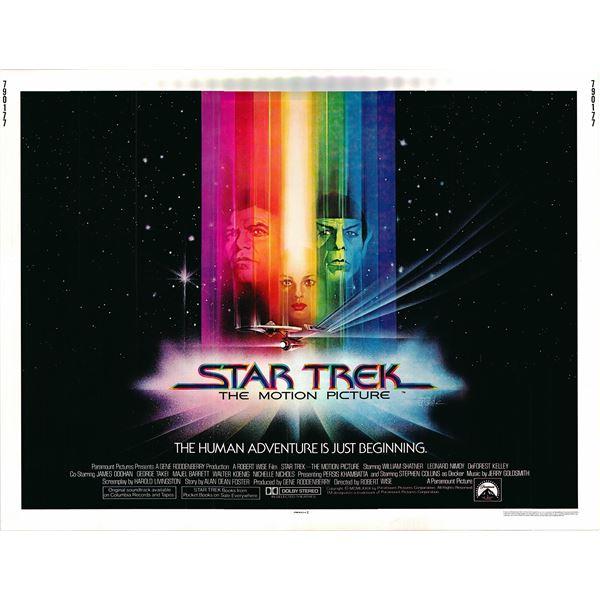 Star Trek: The Motion Picture 1979 original vintage movie poster