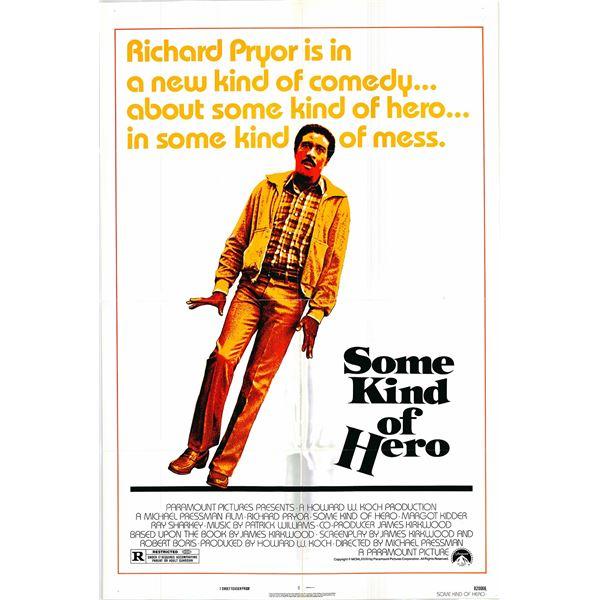 Some Kind of Hero original 1982 vintage one sheet movie poster