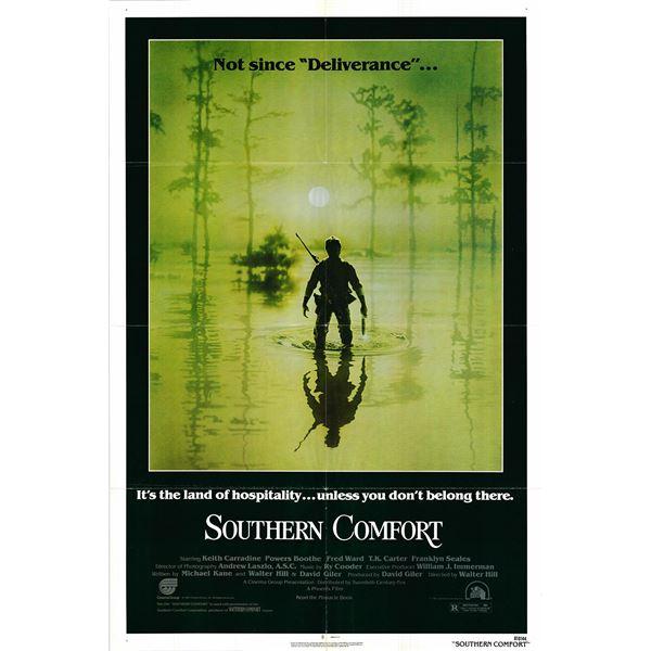 Southern Comfort original 1981 vintage one sheet movie poster