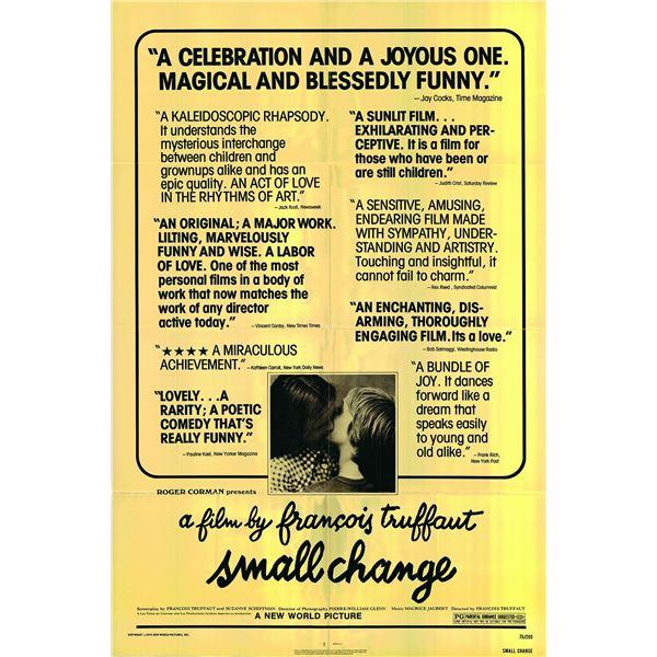 Small Change original 1976 vintage one sheet movie poster