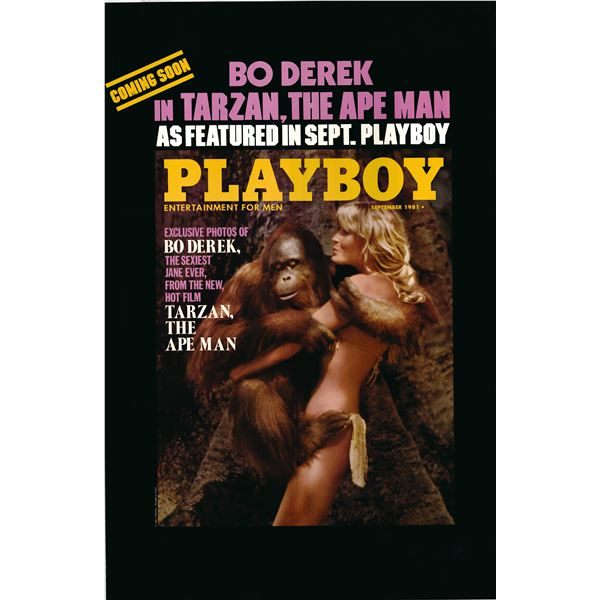 Playboy 1981 original vintage poster