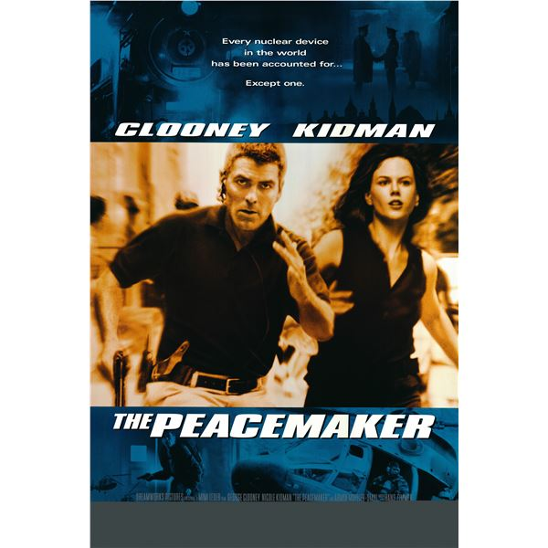 The Peacemaker 1997 original one sheet movie poster