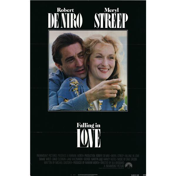 Falling in Love 1984 original vintage one sheet movie poster