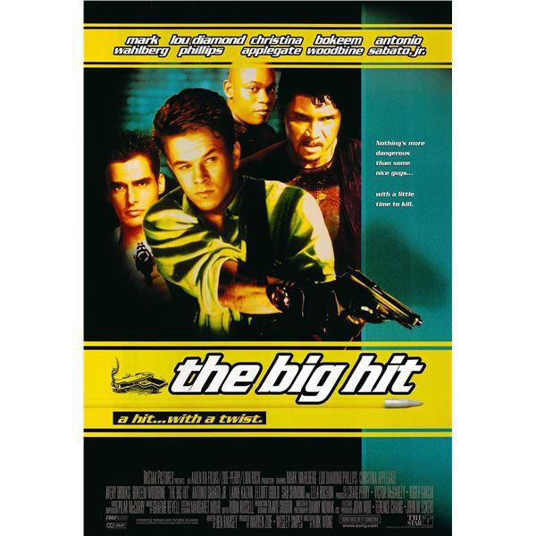 The Big Hit original 1998 vintage one sheet movie poster