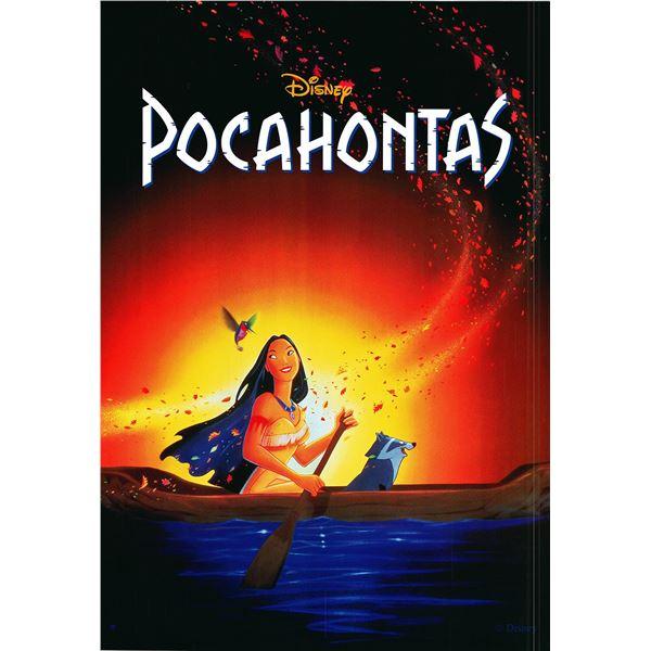 Pocahontas 1995 original movie poster