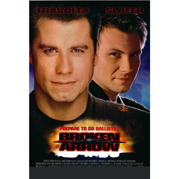 Broken Arrow 1995 original movie poster