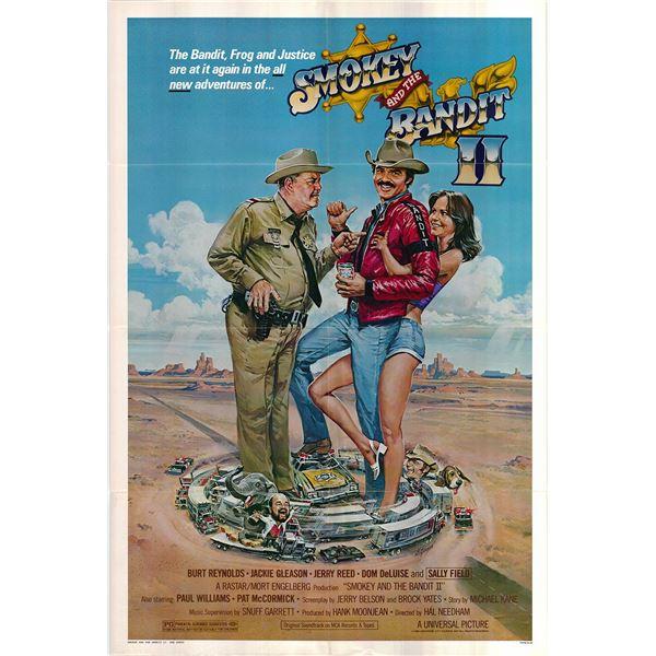 Smokey and the Bandit II original 1980 vintage one sheet movie poster