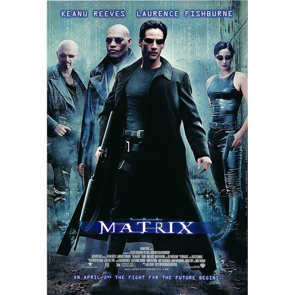 The Matrix 1999 original movie poster