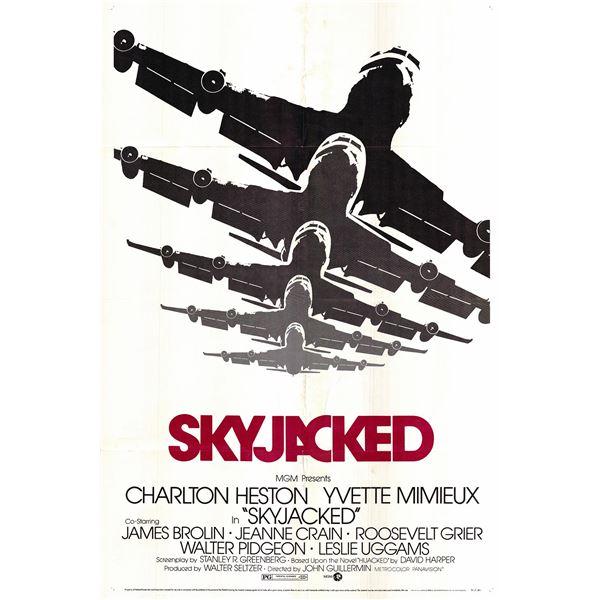 Skyjacked original 1972 vintage one sheet movie poster