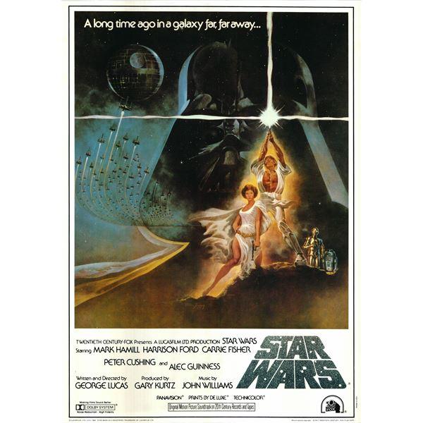 Star Wars 1982 original vintage movie poster
