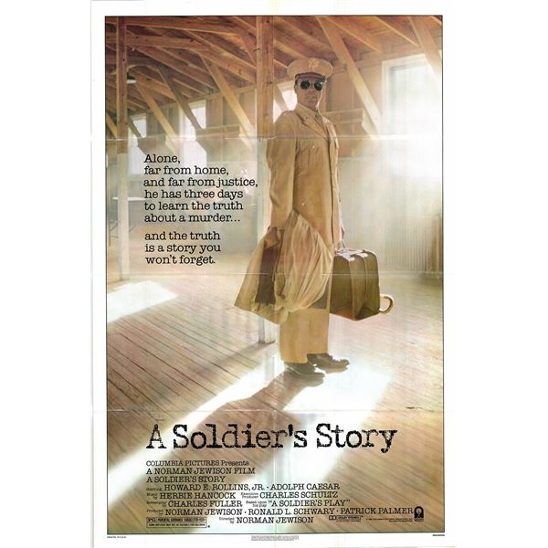 A Soldier's Story original 1984 vintage one sheet movie poster