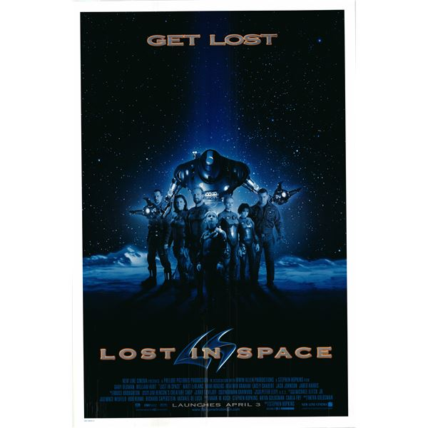 Lost in Space 1997 original one sheet movie poster
