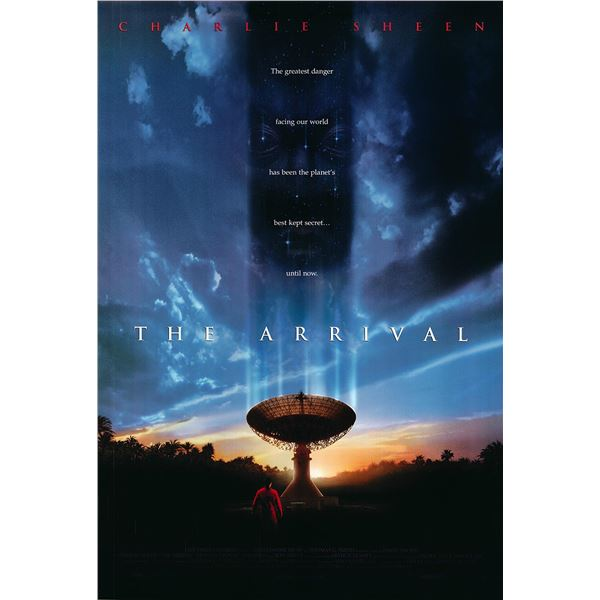 The Arrival original 1996 vintage one sheet movie poster
