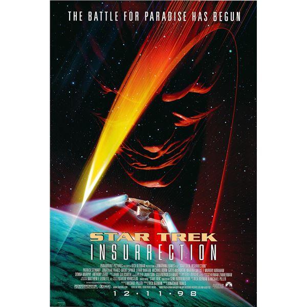 Star Trek: Insurrection 1998 original movie poster
