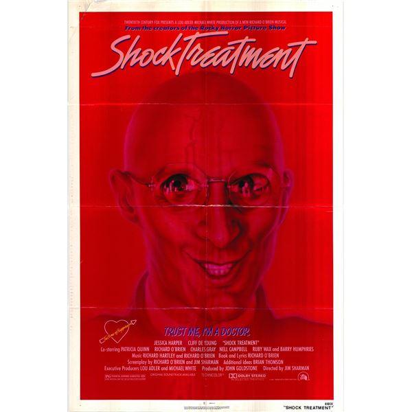 Shock Treatment original 1981 vintage one sheet movie poster