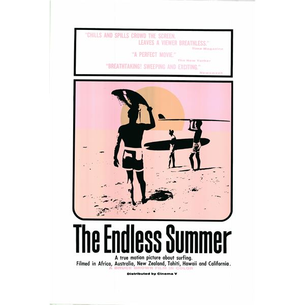 The Endless Summer 1966R Reproduction One Sheet Poster