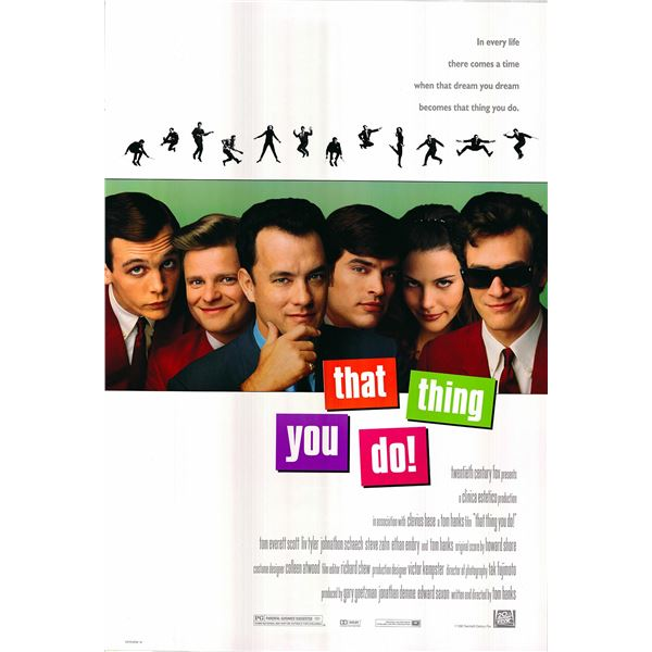 That Thing You Do! original 1996 vintage one sheet movie poster