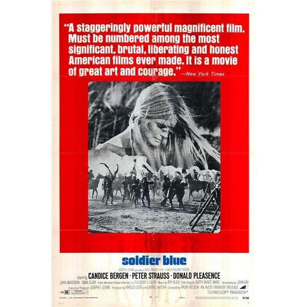 Soldier Blue original 1970 vintage one sheet movie poster