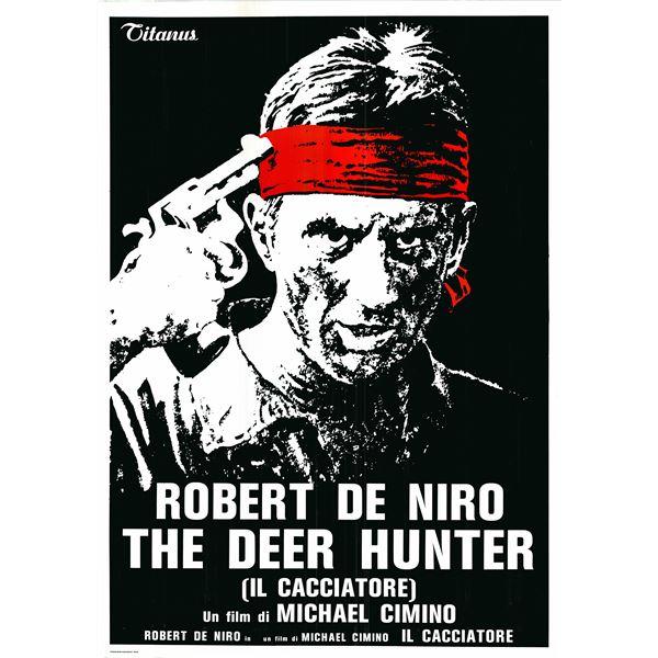 The Deer Hunter (Il Cacciatore) 1978 original vintage one sheet poster