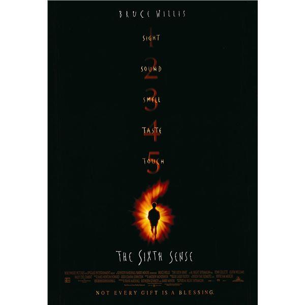 The Sixth Sense original 1999 vintage one sheet movie poster