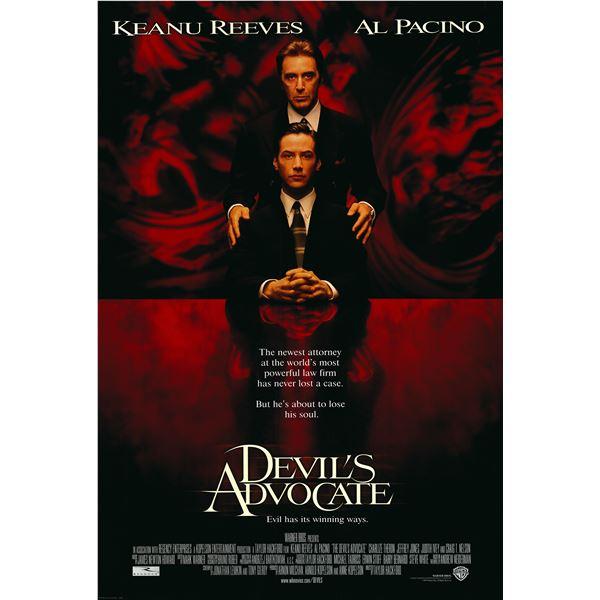 The Devil's Advocate 1997 original movie poster