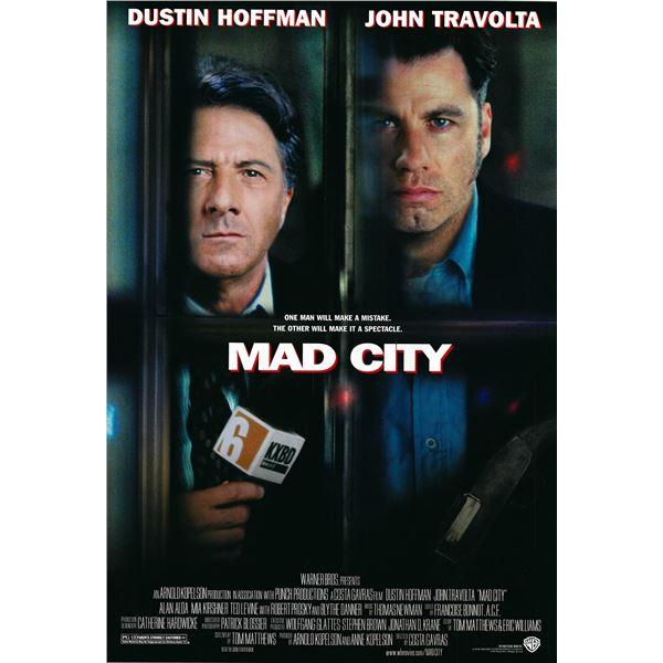 Mad City original 1997 vintage one sheet movie poster