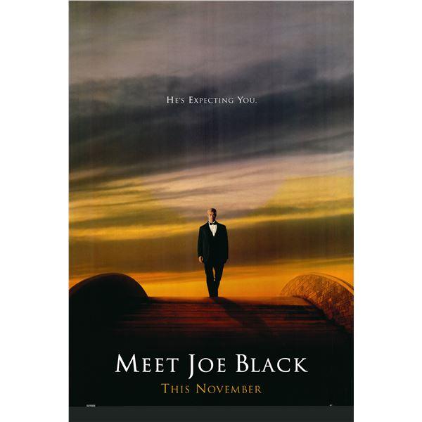 Meet Joe Black 1998 original movie poster