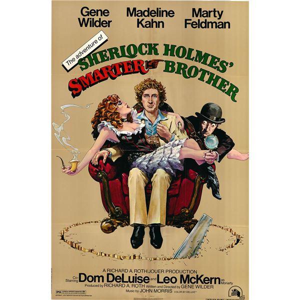 The Adventure of Sherlock Holmes' Smarter Brother original 1975 vintage one sheet movie poster
