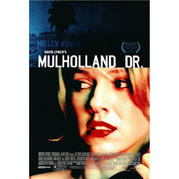Mulholland Drive 2001 original movie poster