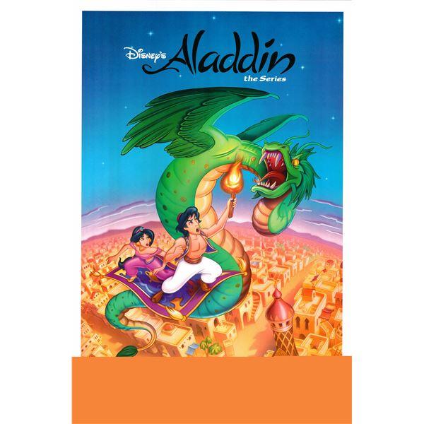 Aladdin 1992 original vintage one sheet TV poster